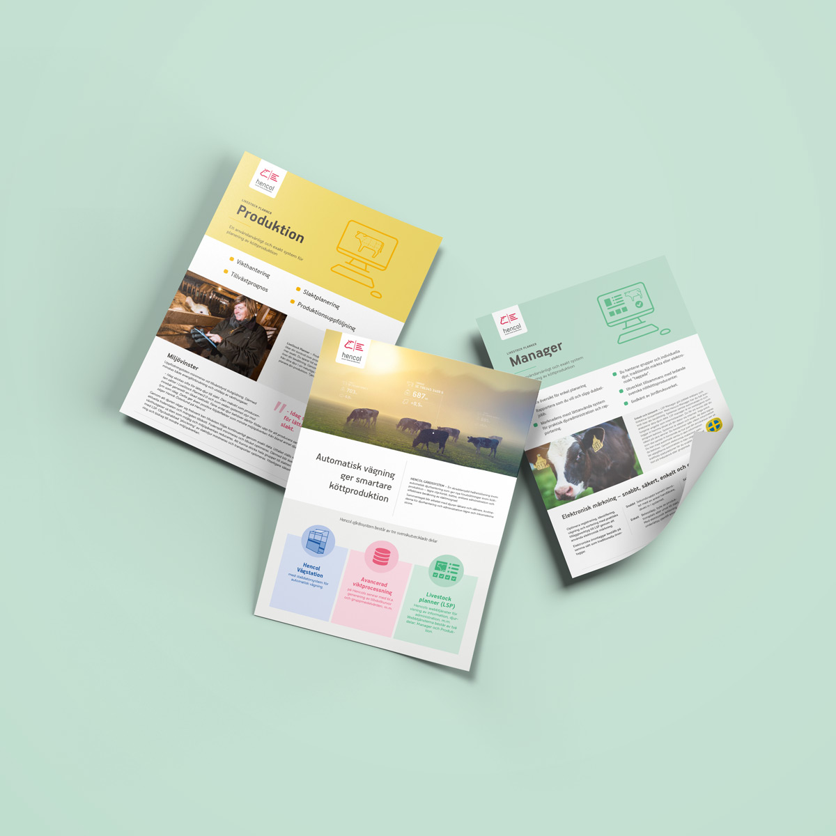 Hencol - Product Sheets